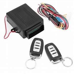 Universal 12v Auto Remote Central Kit Door Lock Locking