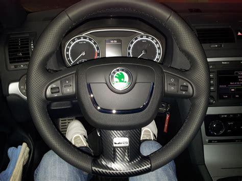 skoda octavia al volante montar volante multifunci 243 n en octavia 2 restyling