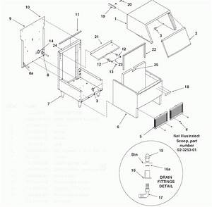 Scotsman Afe400 Self Contained Flaker Parts Diagram