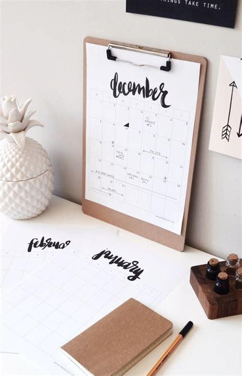 calendrier bureau photo un joli calendrier pour le bureau facile à créer soi même