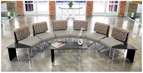 reception area seating make a positive impression