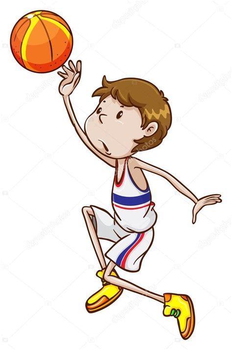 Imágenes: basquetbolistas animados   un joven ...