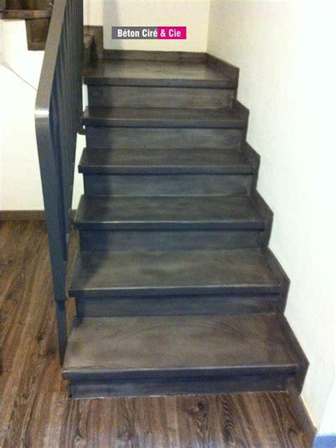 beton cire sur escalier beton beton cire sur escalier beton bton cir mise en oeuvre escaliers en beton cire with beton cire