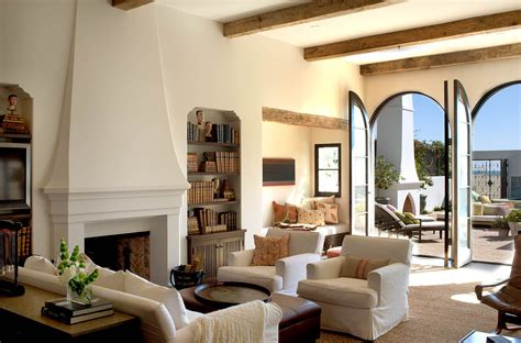 spanish colonial beach house  santa monica idesignarch interior design architecture