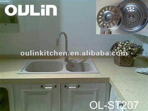how to drill a in a composite granite sink bathroom
