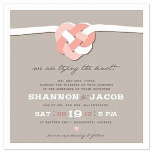 wedding invitations tying the celtic knot at mintedcom With wedding invitation wording tie the knot