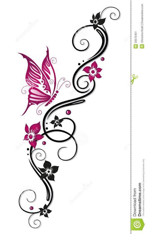 flores zarcillo ilustracion del vector ilustracion de