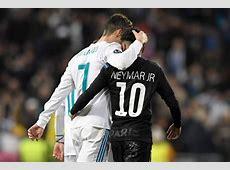 Neymar dribla, mas Cristiano Ronaldo finaliza cinco vezes