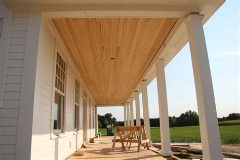 Tongue And Groove Exterior Ceiling Integralbookcom