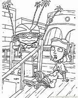 Rocket Coloring Cartoons sketch template