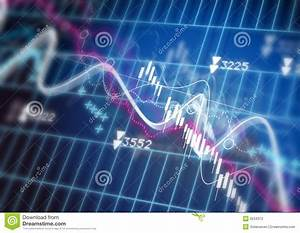 Stock Market Diagram Stock Illustration  Illustration Of