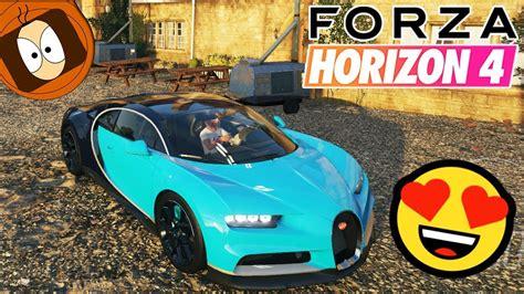 4k, bugatti chiron, forza horizon 4, hypercar. FORZA HORIZON 4 : LA BUGATTI CHIRON +500KM/H ?👍 - YouTube