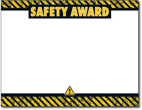 Safety Certificate Template by Safety Award Certificates Printable Safety Award Certificate