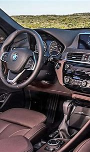 Burlappcar: 2018 BMW X2 interior
