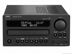 Nad C715 - Manual - Compact Disc Receiver