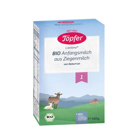 Topfer Lapte Capra Bio 1 x 400 g, Lapte praf