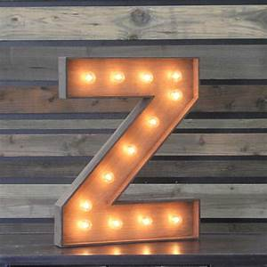 edison marquee letter quotzquot town country event rentals With marquee letter z