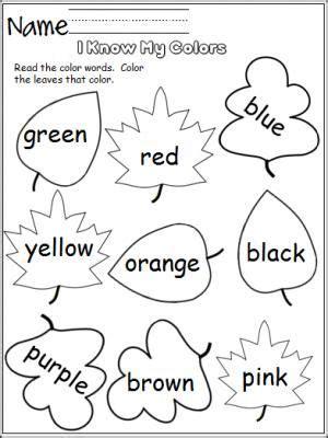 i my colors leaves ideas preschool 828 | d47816af1717f5a86911575b9ede6f63 document camera color activities