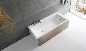 Freistehende Badewanne Mit Integrierter Armatur : bad design von geometrischer sthetik giano serie von rexa design ~ Indierocktalk.com Haus und Dekorationen