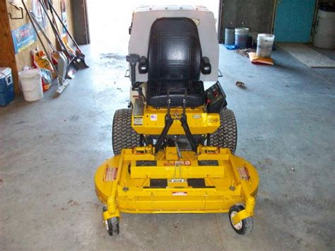 walker mower worth take lawnsite attachments lawn changing