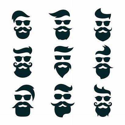 Vector Glasses Hipster Beards Hipsters Beard Clip