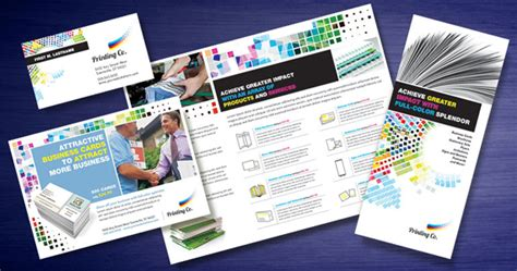 Printing Press Brochure Template by Printing Company Designs That Make An Impression
