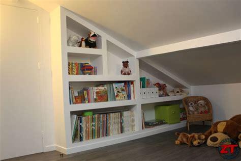 cuisine carreaux de platre brico réaliser une bibliothèque en placo sur mesure