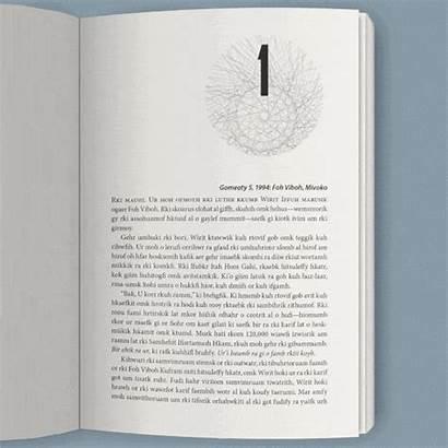 Novel Layout Title Chapters Portfolio Scrambled Changed