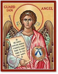 Icons of the Holy Angels: Guardian Angel Icon Monastery