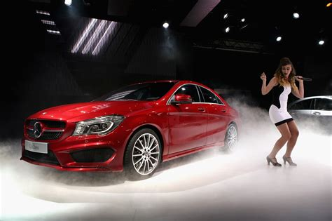 Detroit Car Show by Mercedes Holds Event Prior To Start Of Auto Show In Detroit