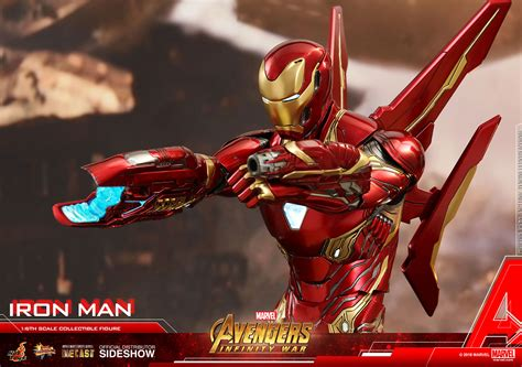 iron man sixth scale figure  hot toys diecast
