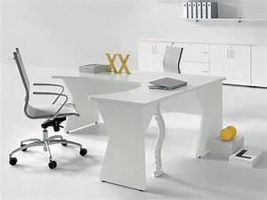 Bureau Pas Chere : bureau d 39 angle pas cher en bois avec retour ikone ~ Melissatoandfro.com Idées de Décoration