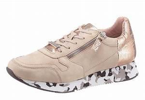 Marken Schuhe Auf Rechnung : tamaris sneaker mit auff lliger sohle in tarn optik online kaufen otto ~ Themetempest.com Abrechnung