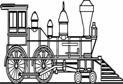 Train Coloring Pages Steam Sheets Locomotive Colouring