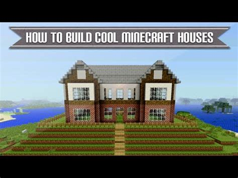 minecraft xbox playstation   build  cool minecraft house simple easy tutorial