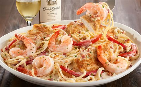 olive garden shrimp sci chicken shrimp carbonara lunch dinner menu olive