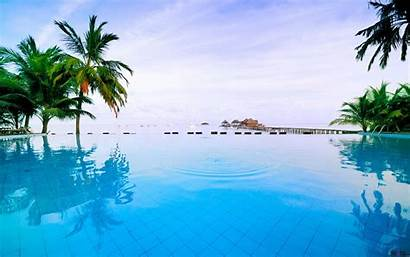 Pool Swimming Desktop Hotel Maldives 1050 1680