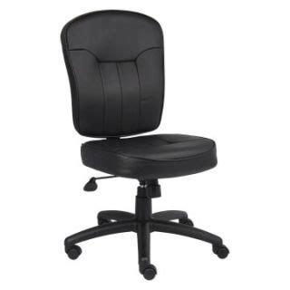 ikea allak black leather swivel office chair on popscreen