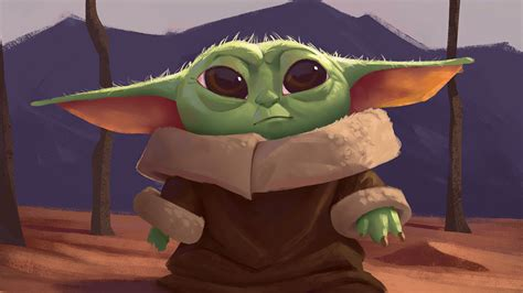 1280x720 New Baby Yoda 4k Art 720p Wallpaper Hd Artist 4k