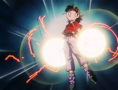 Dragon Ball Gt Power Gifs Pan Goku