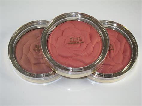 milani awakening rose rose powder blush review swatches