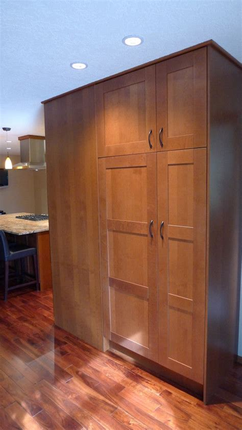 ikan kitchens page  custom pantry tall cabinet