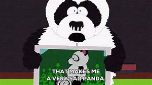 That Makes Me A Very Sad Panda GIF by South Park - Find ...