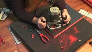 Kernbohrung Selber Machen : werkzeugeinlage mit oberfr se selbst gemacht youtube youtube ~ A.2002-acura-tl-radio.info Haus und Dekorationen