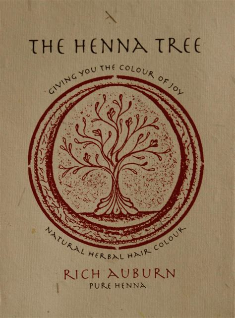 Rich Auburn Pure Henna Hair Colour The Henna Tree