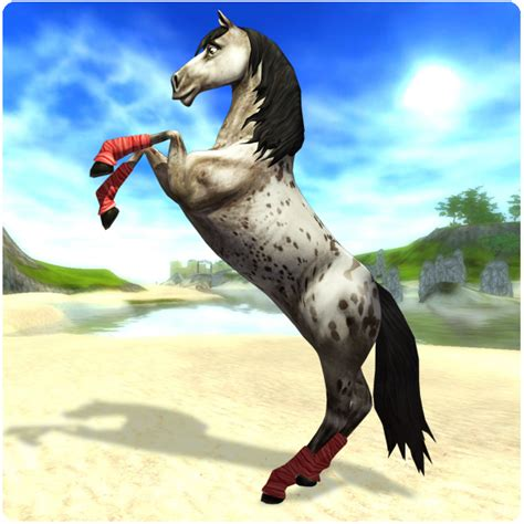 stable star horse horses game games starstable rearing horsey ass realistic own skyrim bad almost fun quests rider wish could