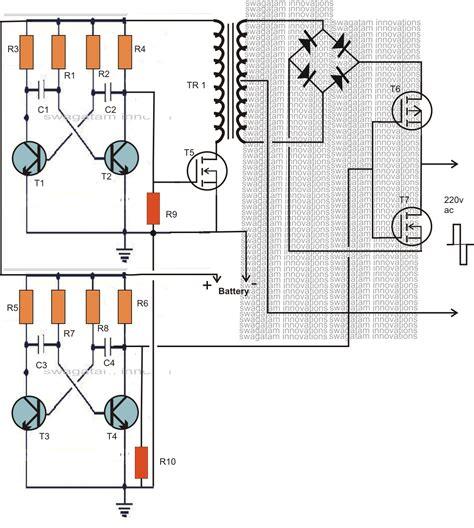Making Watt Compact Pwm Inverter Circuit Using