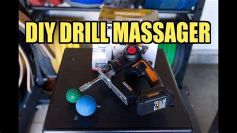 "DIY ""DRILL"" MASSAGE GUN! - Percussive Massager - YouTube"