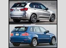 Photo Comparison F85 BMW X5 vs E70 X5 M
