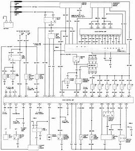 Wiring Diagram For A Alternator   1991 4cyl Nissan